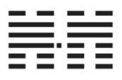 Пример исходной и родственной гексаграммы: