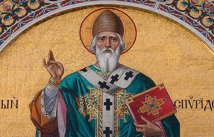 Тропарь святителю Спиридону Тримифунтскому