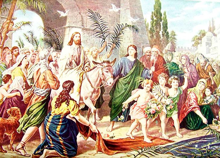 Вербное воскресение.История праздника