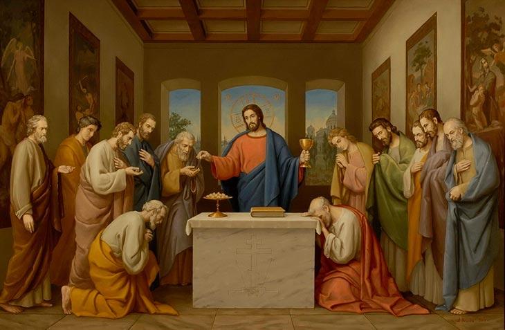 Как приступать ко святой чаше