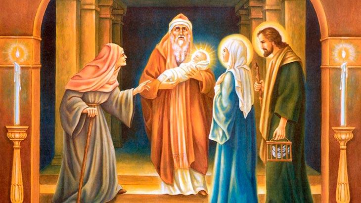 Праздник Сретения Господнего имеет глубокий смысл