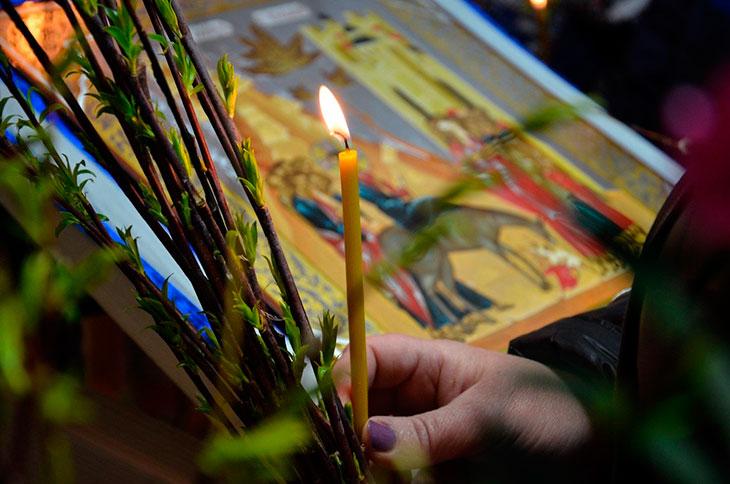 Вербное воскресение в народныхтрадициях
