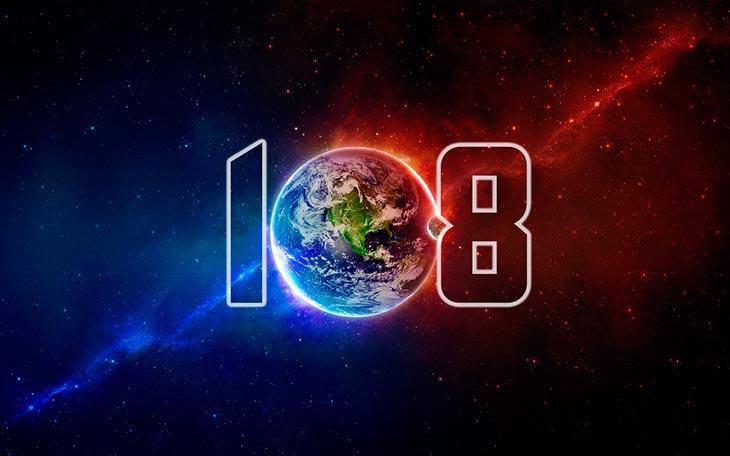 Взаимосвязь чисел 666 и 108