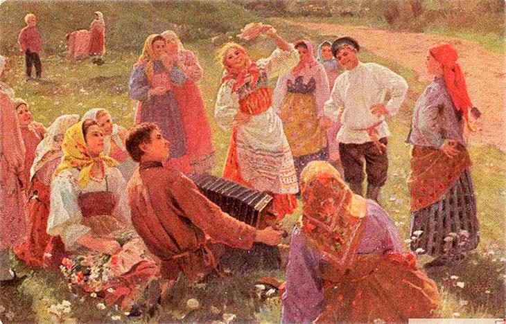 Красная горка в православии