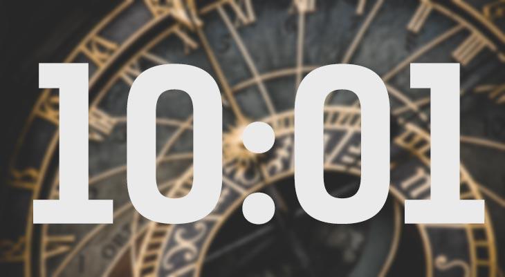 Что означает совпадение чисел на часах