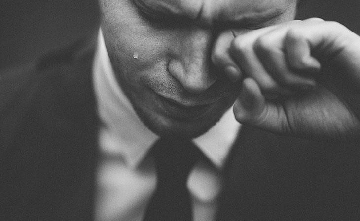 Мужчине пришлось видеть себя во сне плачущим?