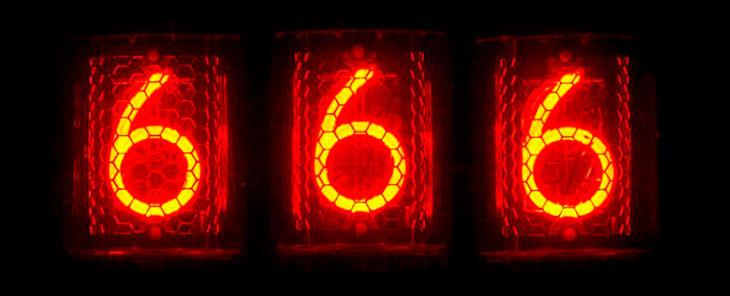 Что означает 666 в работе и творчестве