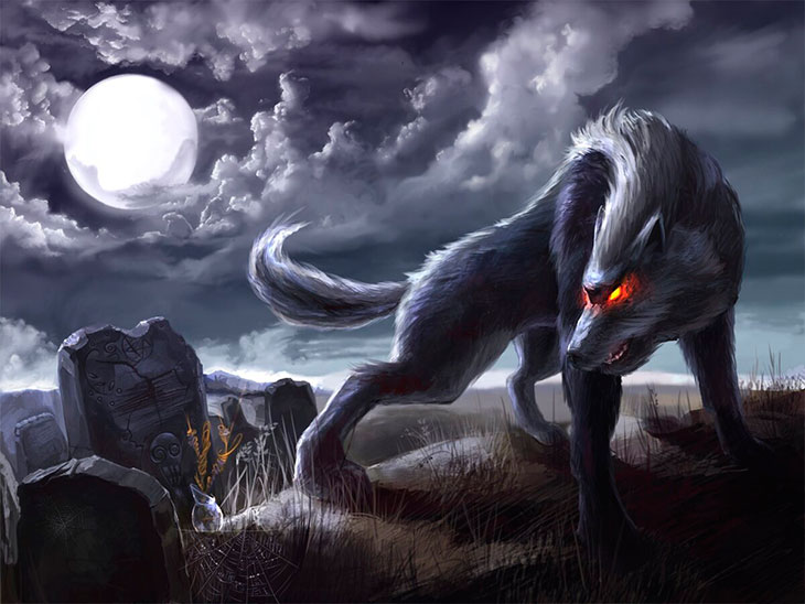 К чему снится убитый, мертвый волк