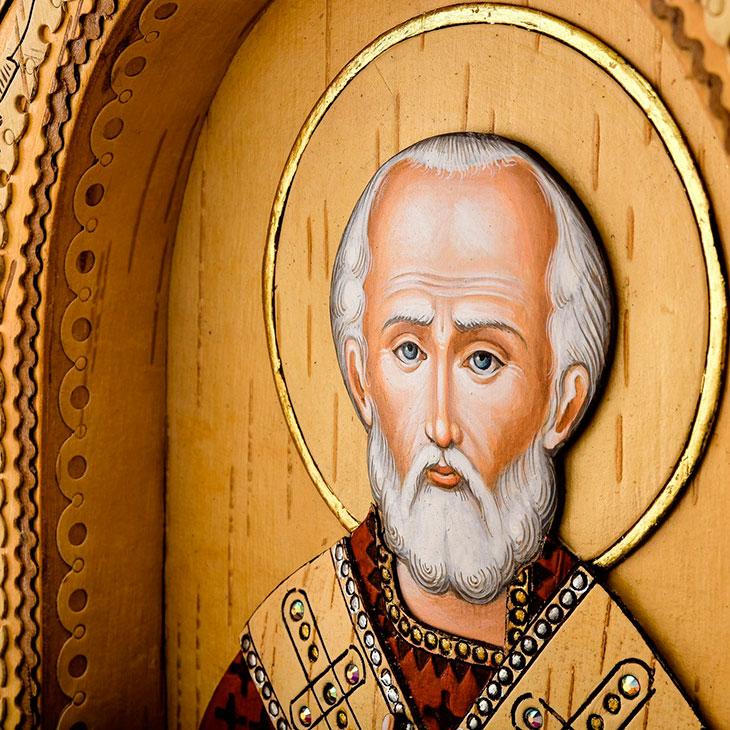 Иконы с изображением святого
