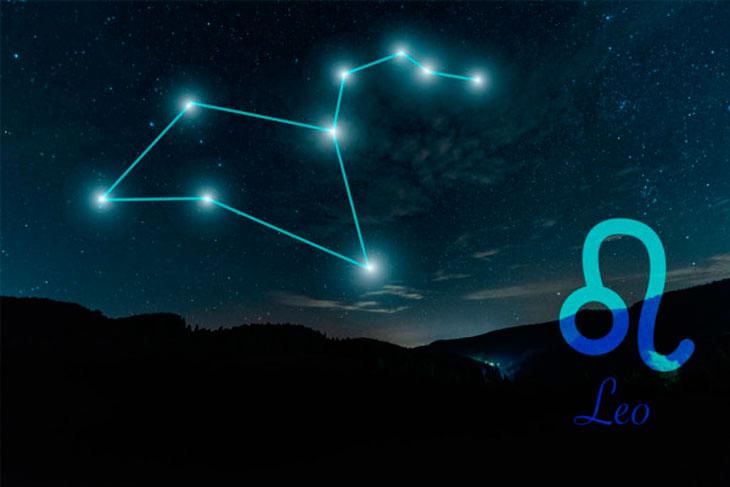 Интересные звезды и явления в созвездии Льва