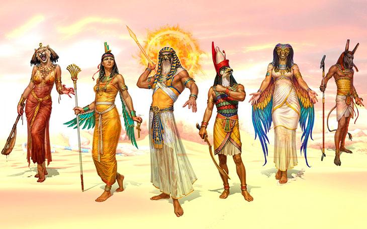Боги Солнца в Древнем Египте