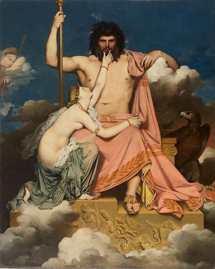 Зевс как олицетворение небесного свода