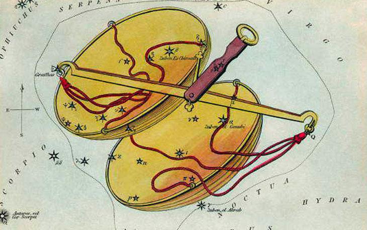 Миф о созвездии Весов