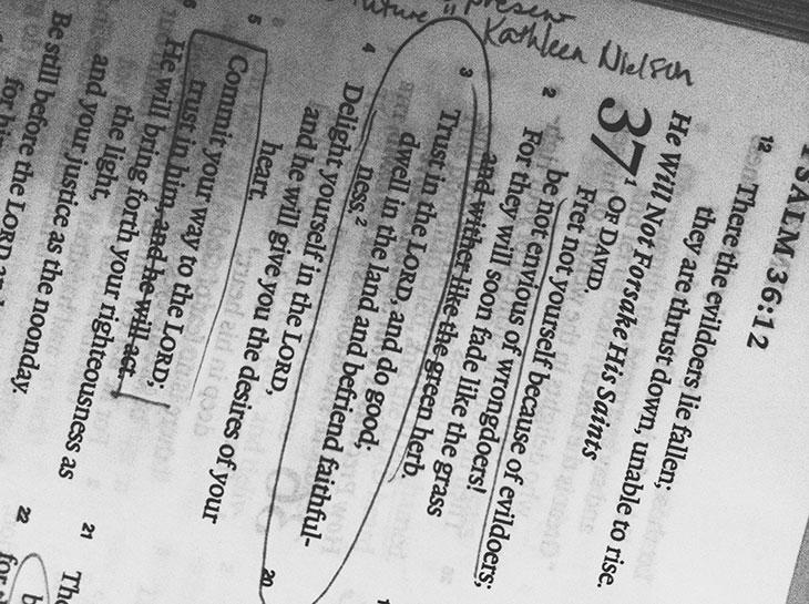 Детальное толкование псалма