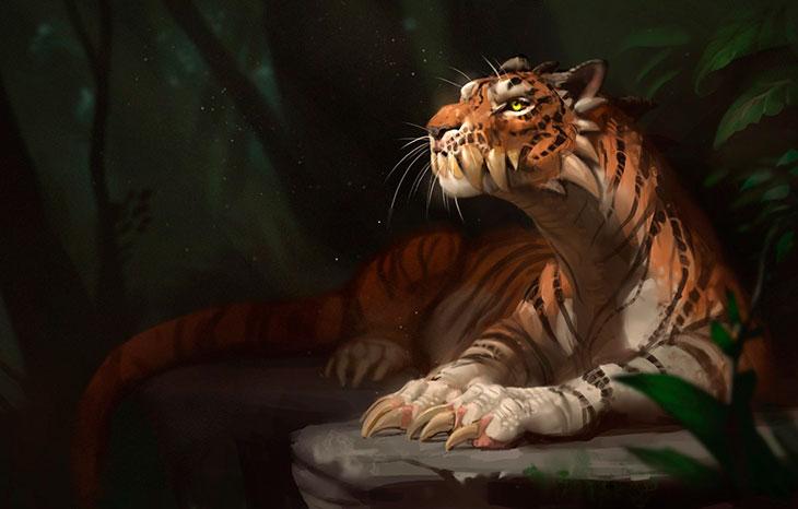 Преимущества характера Тигра