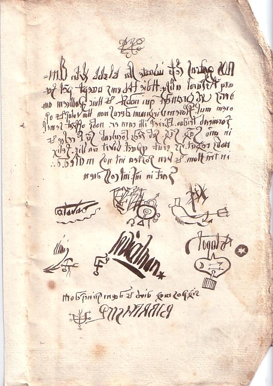 Договор Урбана Грандье сдьяволом