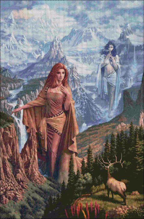 Нимфы гор