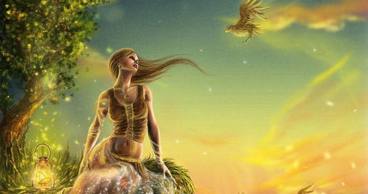 Небесные нимфы